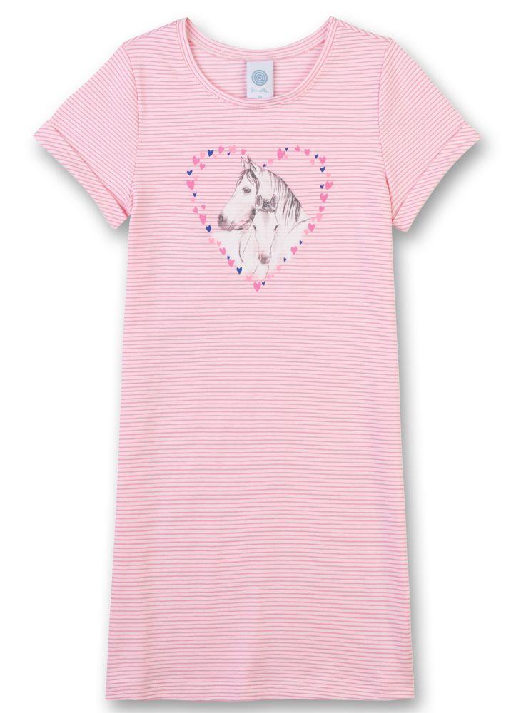 Sanetta Girl Pferde-Unterhemd White-Blue 334258