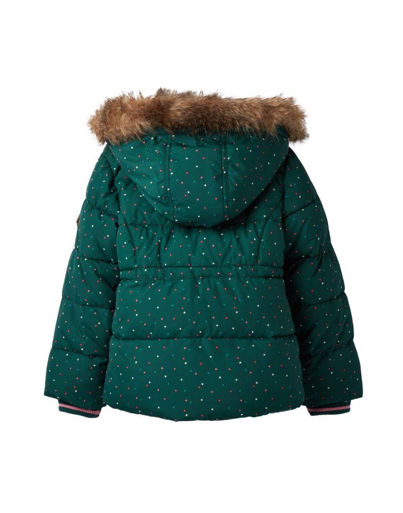 Teddyfutter Joules Mädchen Winterjacke Sterne Sterne Winterjacke l1FKcTJ