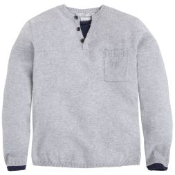 Strickpullover Alvin Knopfleiste Pepe Jeans