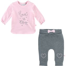 Set Shirt und Hose love u too Feetje Babymode