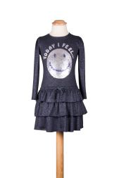 Kleid Smiley Wendepaillette Eisend Kindermode