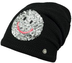 Beanie Fable Paillettensmiley Barts