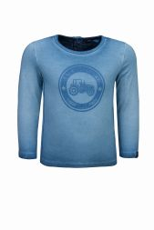 Langarmshirt Traktor oil-washed Lief Kindermode