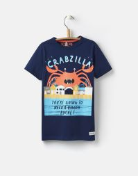 T-Shirt Crabzilla Tom Joule Kindermode