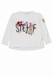 Langarmshirt Blumen Colourful Winter Steiff