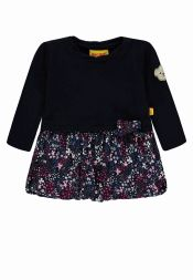 Kleid Blumen Colourful Winter Steiff Kindermode