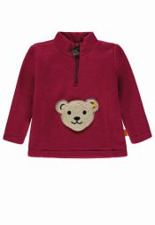 Fleecepullover Colourful Winter Steiff Kindermode