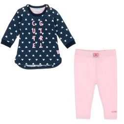 Set Sweatkleid Cute Girl und Leggings Feetje