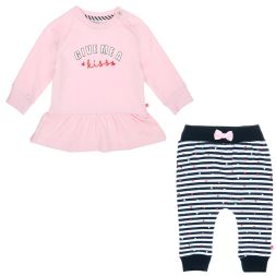Set Sweat Kiss und Ringelhose Feetje Babymode