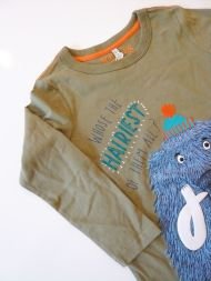 Langarmshirt The Hairiest Tom Joule Kindermode