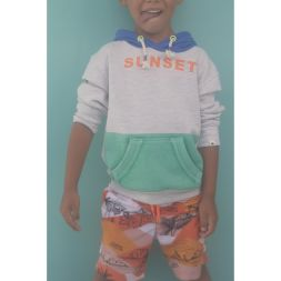 Sweatshirt Sunset Junge Billybandit Kinderkleidung