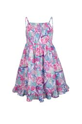 Kleid allover Print gerafft happy girls by Eisend