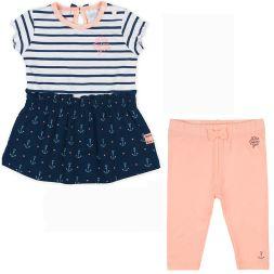 Feetje Baby-M/ädchen Strickjacke mit Knopfleiste und Lochmuster