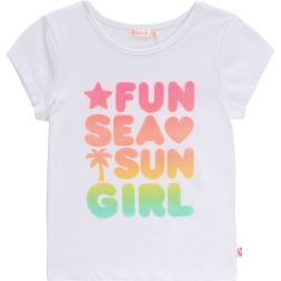 T-Shirt Fun - Sea - Sun - Girl Mädchen Billieblush