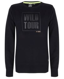 Sweat WildTour Rundhals Mädchen Indian Blue  Jeans