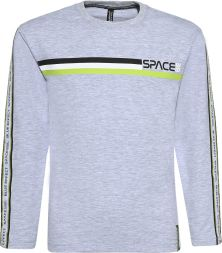 Langarmshirt SPACE Jungen Blue Effect